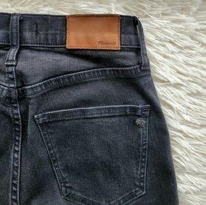 Madewell Ash Black High Riser Skinny Jeans